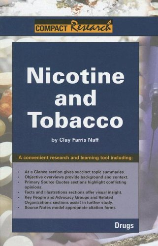 Nicotine and Tobacco 9781601520067