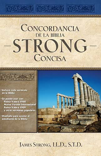Concordancia de la Biblia Strong Concisa 9781602555174