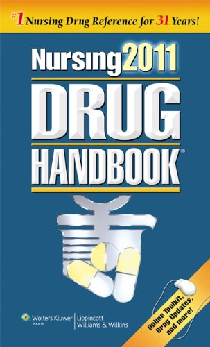 Nursing Drug Handbook [With Access Code] 9781608316144