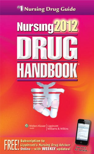 Nursing Drug Handbook [With Access Code] 9781609136192