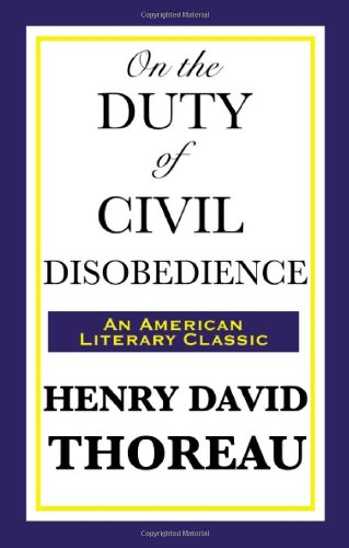 On the Duty of Civil Disobedience 9781604592931