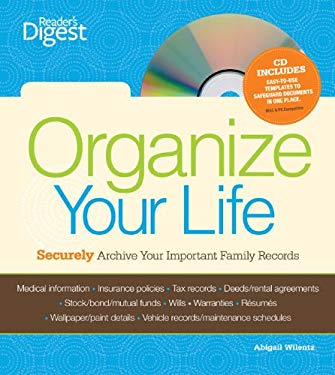 Organize Your Life: Securely Archive Your Important Family Records [With CDROM] 9781606521489