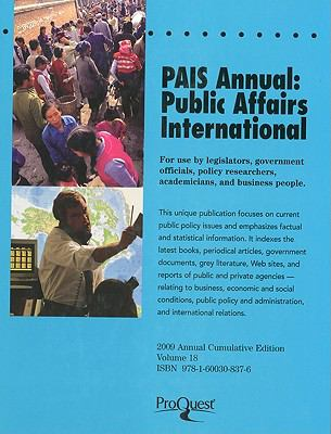 Pais Annual: Public Affairs International 9781600308376