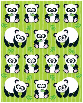 Pandas Shape Stickers 9781604189919