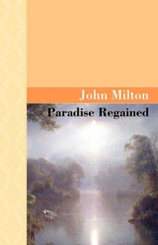 Paradise Regained 9781605120485