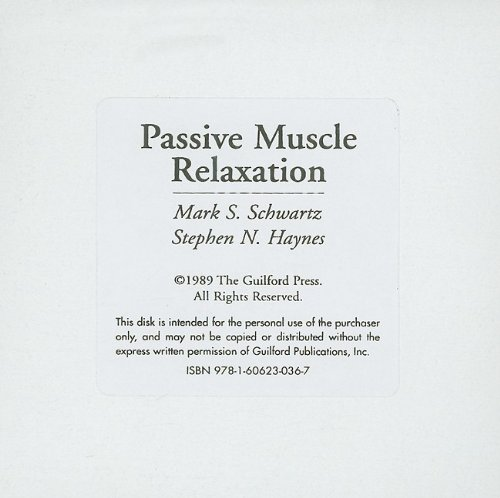 Passive Muscle Relaxation 9781606230367