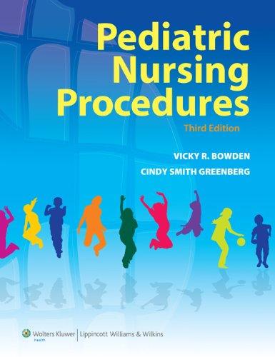 Pediatric Nursing Procedures 9781605472096