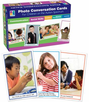 Photo Conversation Cards for Children with Autism and Aspergers 9781602681309