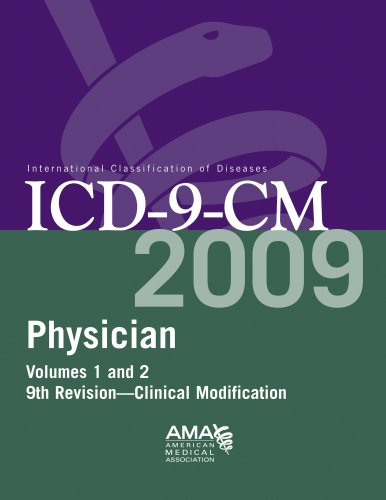 Physician ICD-9-CM Volumes 1 and 2: 9th Revision - Clinical Modification [With Code Change Summary and Crosswalk Guide]