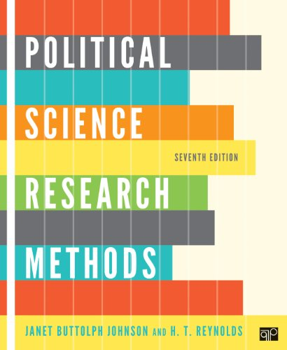 Political Science Research Methods 9781608716890