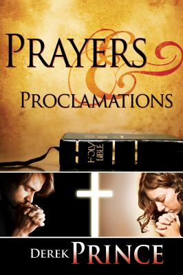Prayers & Proclamations 9781603741224
