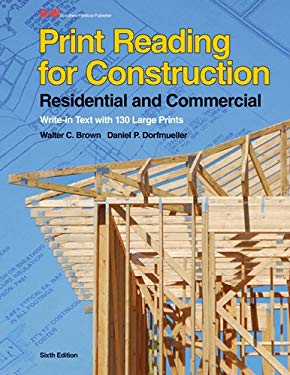 Print Reading for Construction: Residential and Commercial [With Paperback Book] 9781605258027