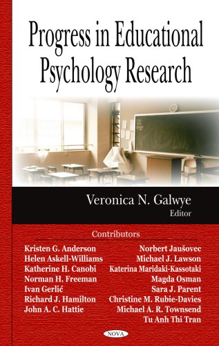 Progress in Educational Psychology Research 9781600217869