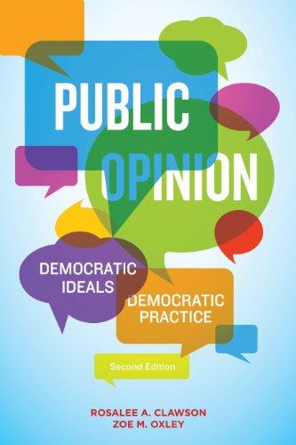 Public Opinion: Democratic Ideals, Democratic Practice 9781608717965