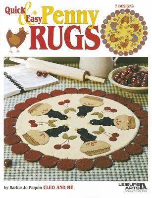 Quick & Easy Penny Rugs 9781609001926