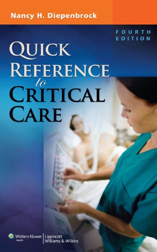 Quick Reference to Critical Care 9781608314645