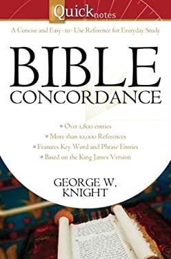 Quicknotes Bible Concordance 9781602604438