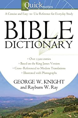 Quicknotes Bible Dictionary 9781602604421