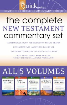 Quicknotes: The Complete New Testament Commentary Set, 5-Volume Set: Simplified Bible Commentary 9781602604797