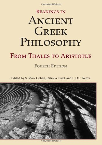 Readings in Ancient Greek Philosophy: From Thales to Aristotle 9781603844628