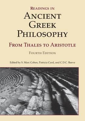 Readings in Ancient Greek Philosophy: From Thales to Aristotle 9781603844635