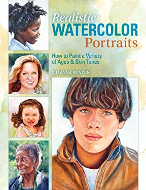 realistic watercolor portrait painting skin tones with Andrealistic