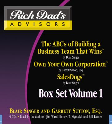 Rich Dad's Advisors, Volume 1 Box Set 9781600241192