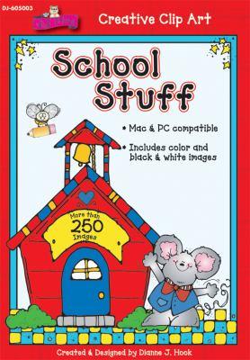 School Stuff Clip Art 9781604181333