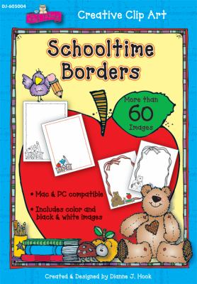Schooltime Borders Clip Art 9781604181340