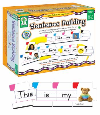 Sentence Building: An Early Literacy Resource That Provides for an Endless Variety of Reading and Grammar Games! 9781602680135