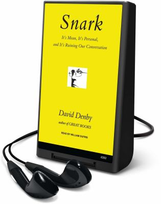 Snark [With Earbuds] 9781608478705