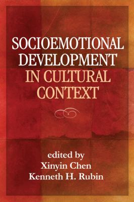 Socioemotional Development in Cultural Context 9781609181864