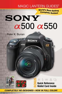 Sony a500/a550 [With Quick Reference Wallet Card] 9781600596933