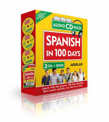 Spanish in 100 Days (Libro + 3 CDs) 9781603966511