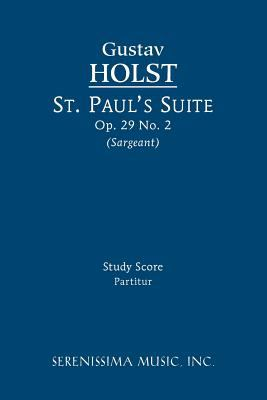 St. Paul's Suite - Study Score 9781608740451