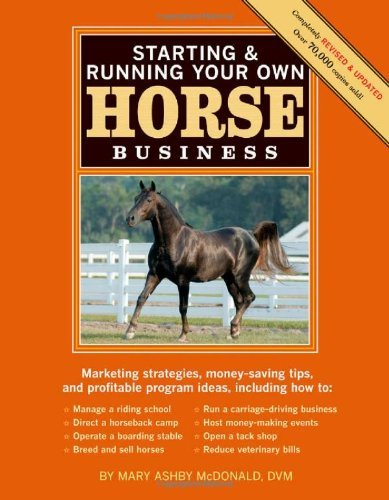 Starting & Running Your Own Horse Business 9781603424837