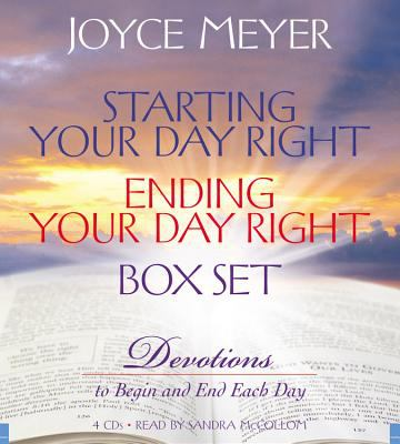 Starting Your Day Right/Ending Your Day Right Box Set: Devotions to Begin and End Each Day 9781600240959