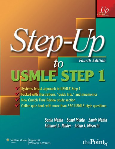 Step-Up to USMLE Step 1: A High-Yield, Systems-Based Review for the USMLE Step 1 9781605474700