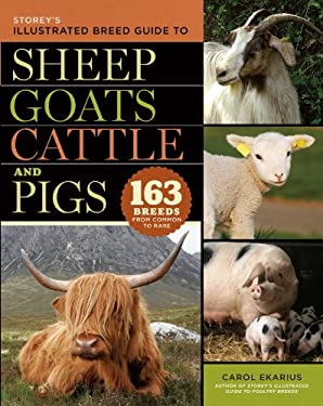 Storey's Illustrated Breed Guide to Sheep, Goats, Cattle and Pigs: 163 Breeds from Common to Rare 9781603420365