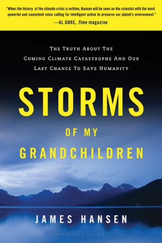 Storms of My Grandchildren: The Truth about the Coming Climate Catastrophe and Our Last Chance to Save Humanity 9781608195022