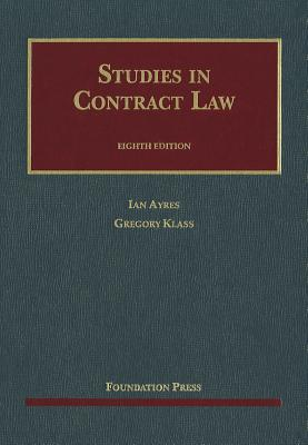 Studies in Contract Law 9781609301170
