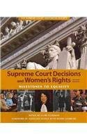 Supreme Court Decisions and Womens Rights 9781608714070