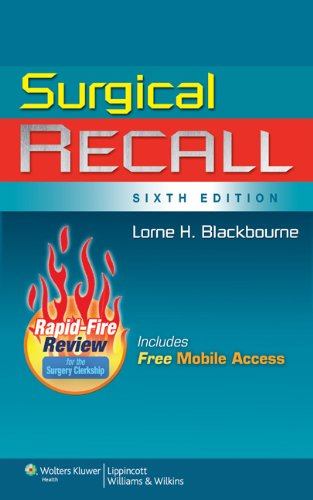 Surgical Recall 9781608314218