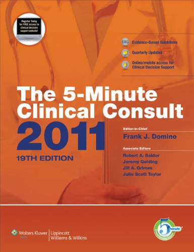 The 5-Minute Clinical Consult 9781608312597