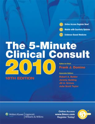 The 5-Minute Clinical Consult 9781605470139