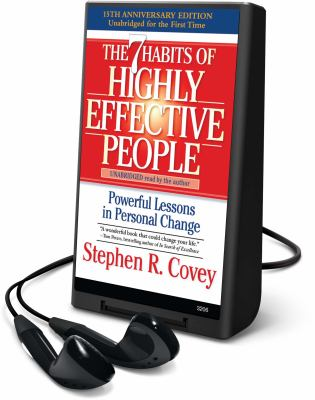 The 7 Habits of Highly Effective People: Powerful Lessons in Personal Change [With Headphones] 9781606407257