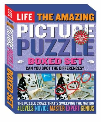 The Amazing Picture Puzzle Boxed Set: Can You Spot the Differences?