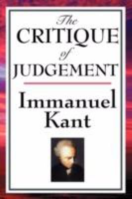 The Critique of Judgement 9781604592733