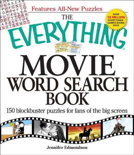 The Everything Movie Word Search Book: 150 Blockbuster Puzzles for Fans of the Big Screen 9781605500485