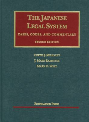 Milhaupt, Ramseyer, and West's the Japanese Legal System, 2D 9781609300296